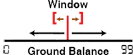 GROUND BALANCE WINDOW
